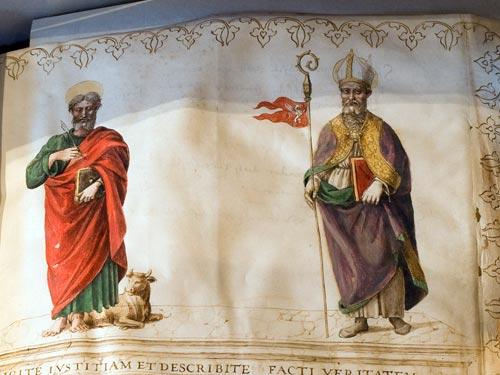 Gli alti prelati della Reverenda Camera Apostolica